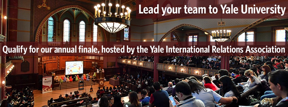 Lead your team to Yale University